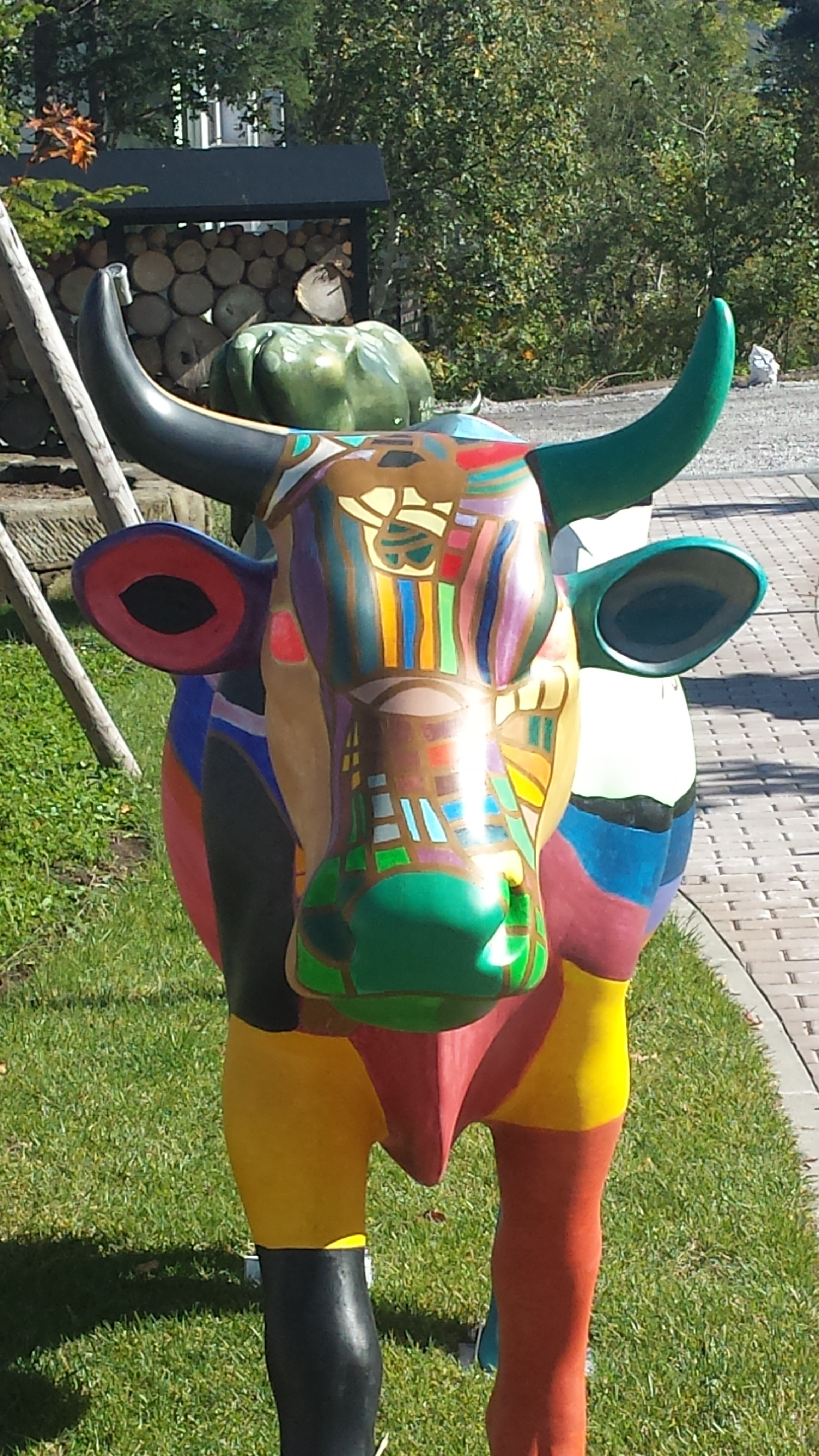 Niseko Cow Parade comes to an end