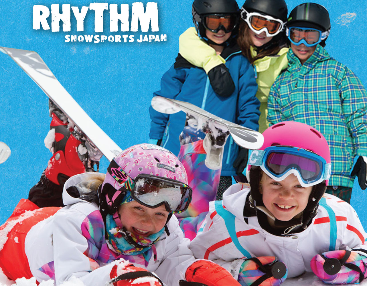 Free ski equipment rental for kids in Niseko this March!